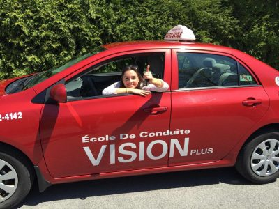Chomedey driving school Vision