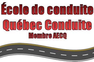 École de conduite Québec conduite