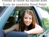 Cours de conduite Rond Point Lévis