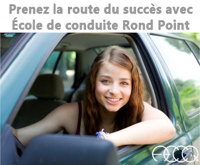 Cours de conduite Rond Point Rue Lagueux