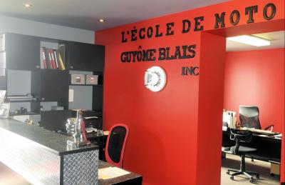 École de moto Guyome Blais à Lévis